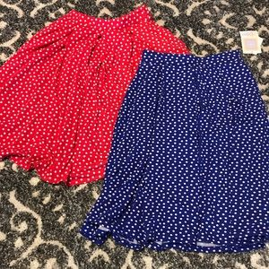 Lularoe polka dot Madison
